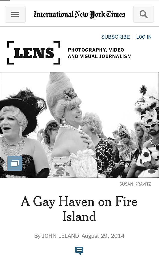 NYTimes Lens blog